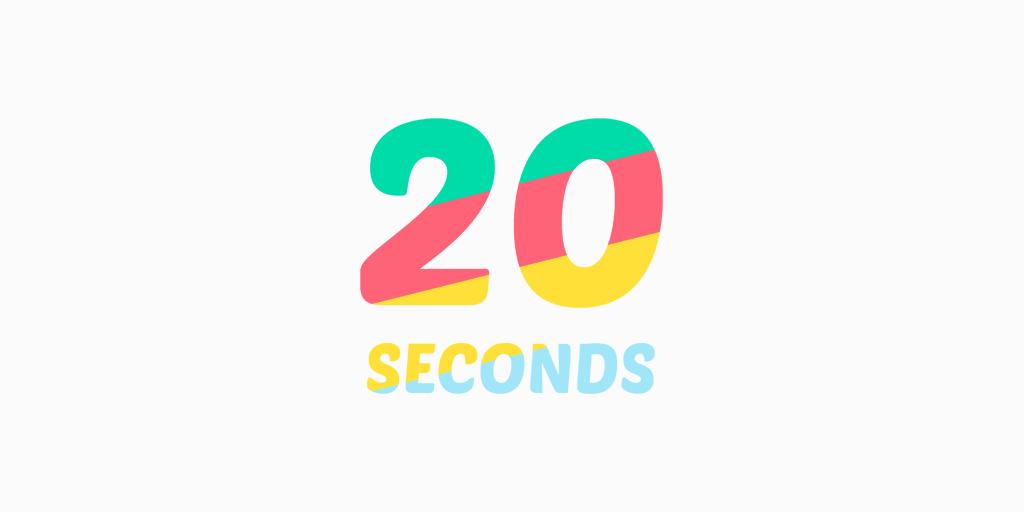 20 Seconds Title